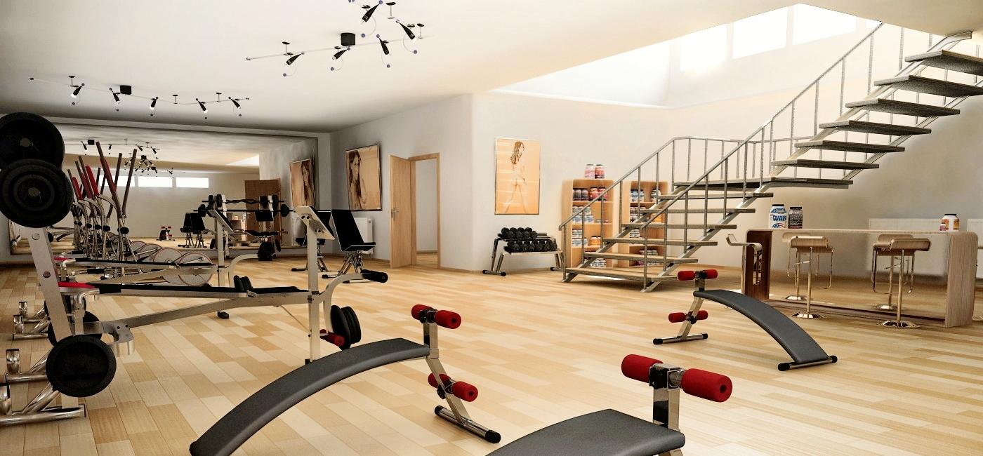 Fitnessraum im keller einrichten  Awesome Ideen Heim Fitnessstudio Einrichten Ideas - Ridgewayng.com ...